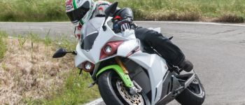 Energica Ego 45 action