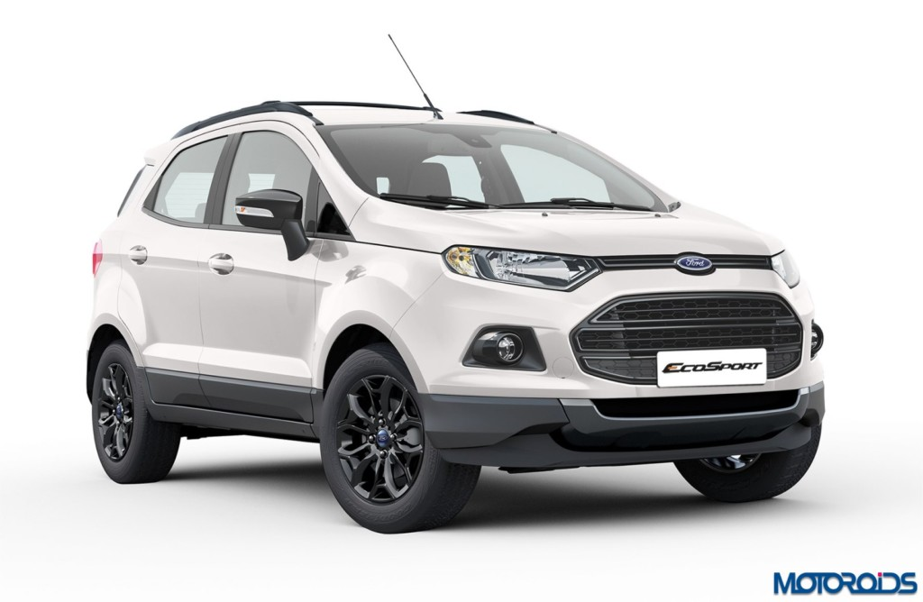 ford ecosport black edition launched prices start at inr lakh ex delhi motoroids. Black Bedroom Furniture Sets. Home Design Ideas