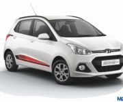 Grand i10 20th anniversary Special Edition front 180x150 Hyundai introduces Grand i10 20th Anniversary Special Edition, priced INR 5.68 L ex Delhi