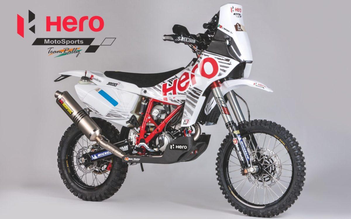 Hero MotoSports Team Rally Bike – Speedbrain 450 Rally