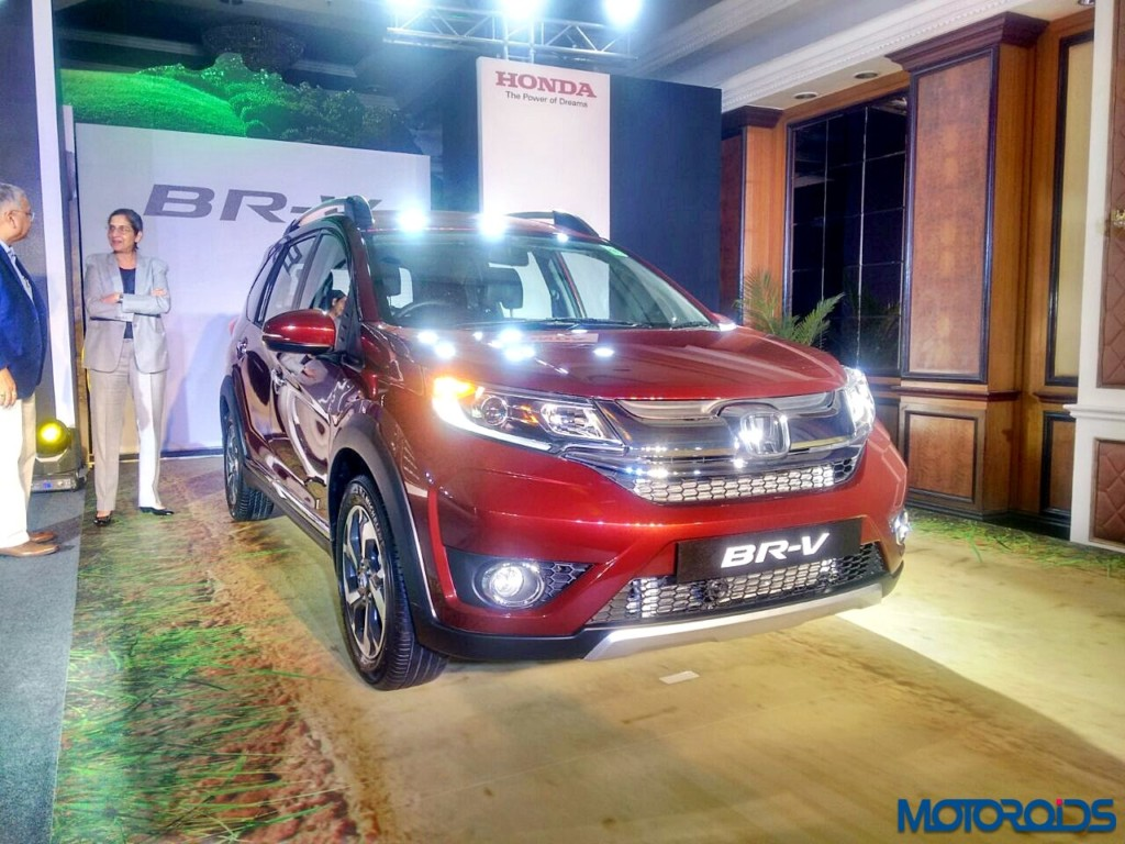 Honda BR-V Launched in Mumbai (5)