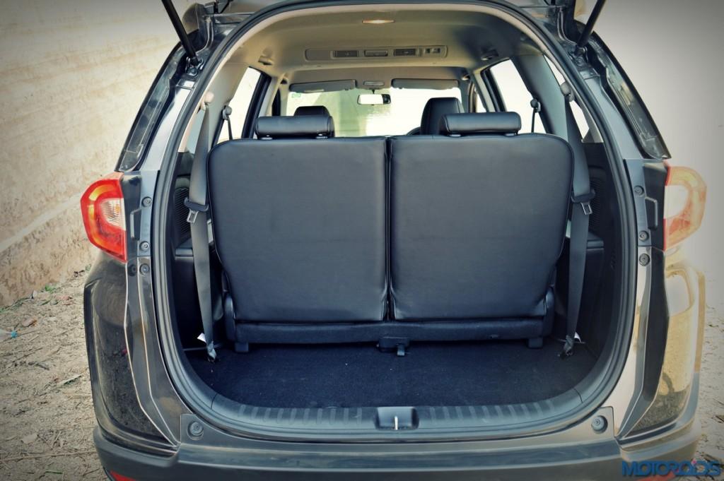 Honda BR-V boot space (2)