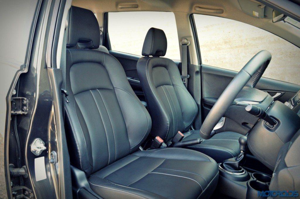 Honda BR-V front seats