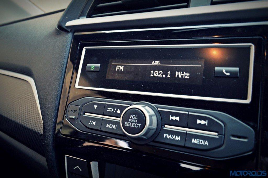 Honda BR-V infotainemnt system (2)