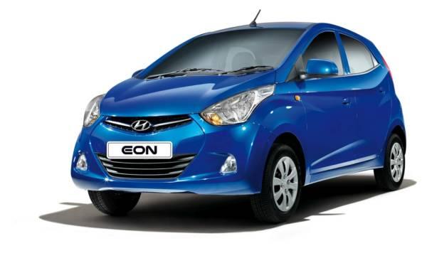 Hyundai Eon blue