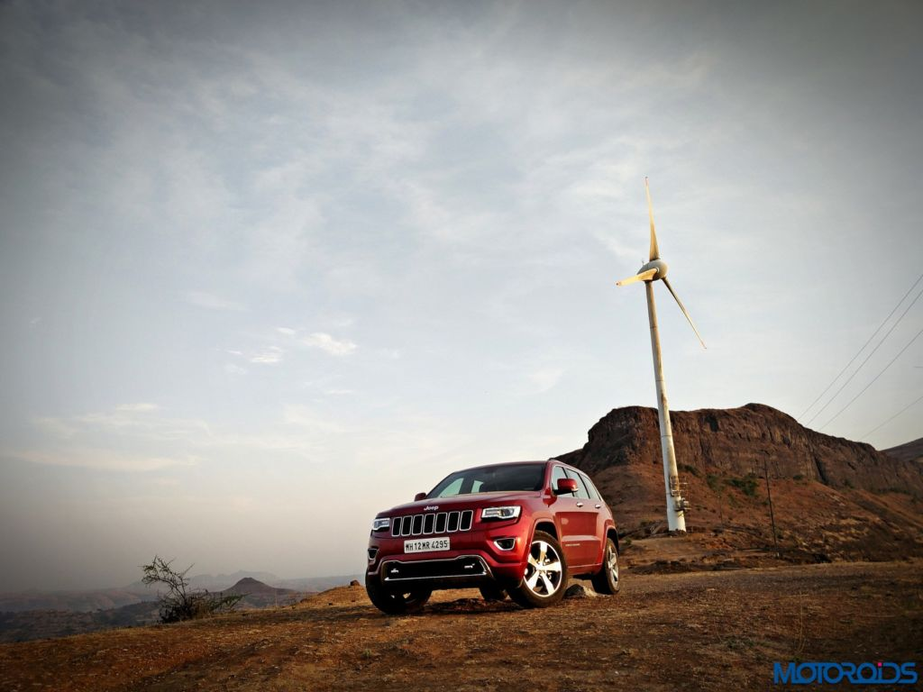 Jeep Grand Cherokee India front (3)