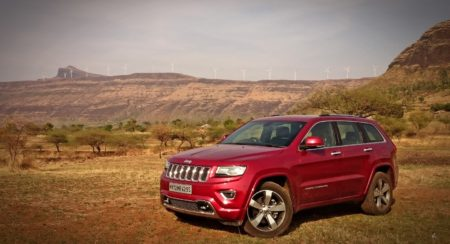 Jeep Grand Cherokee India front (4)