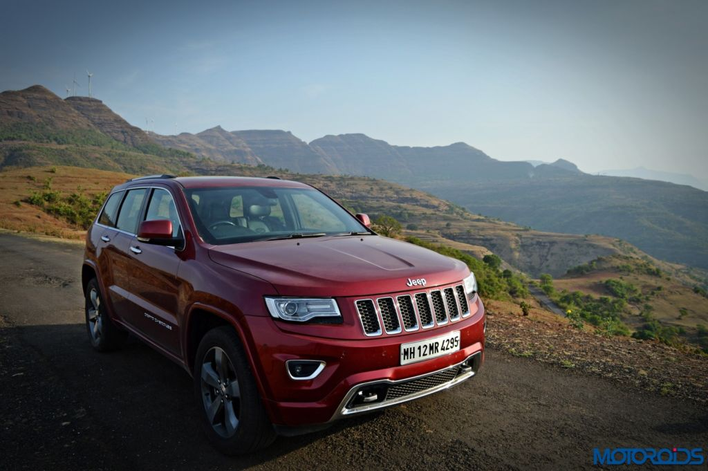 Jeep Grand Cherokee India front (6)