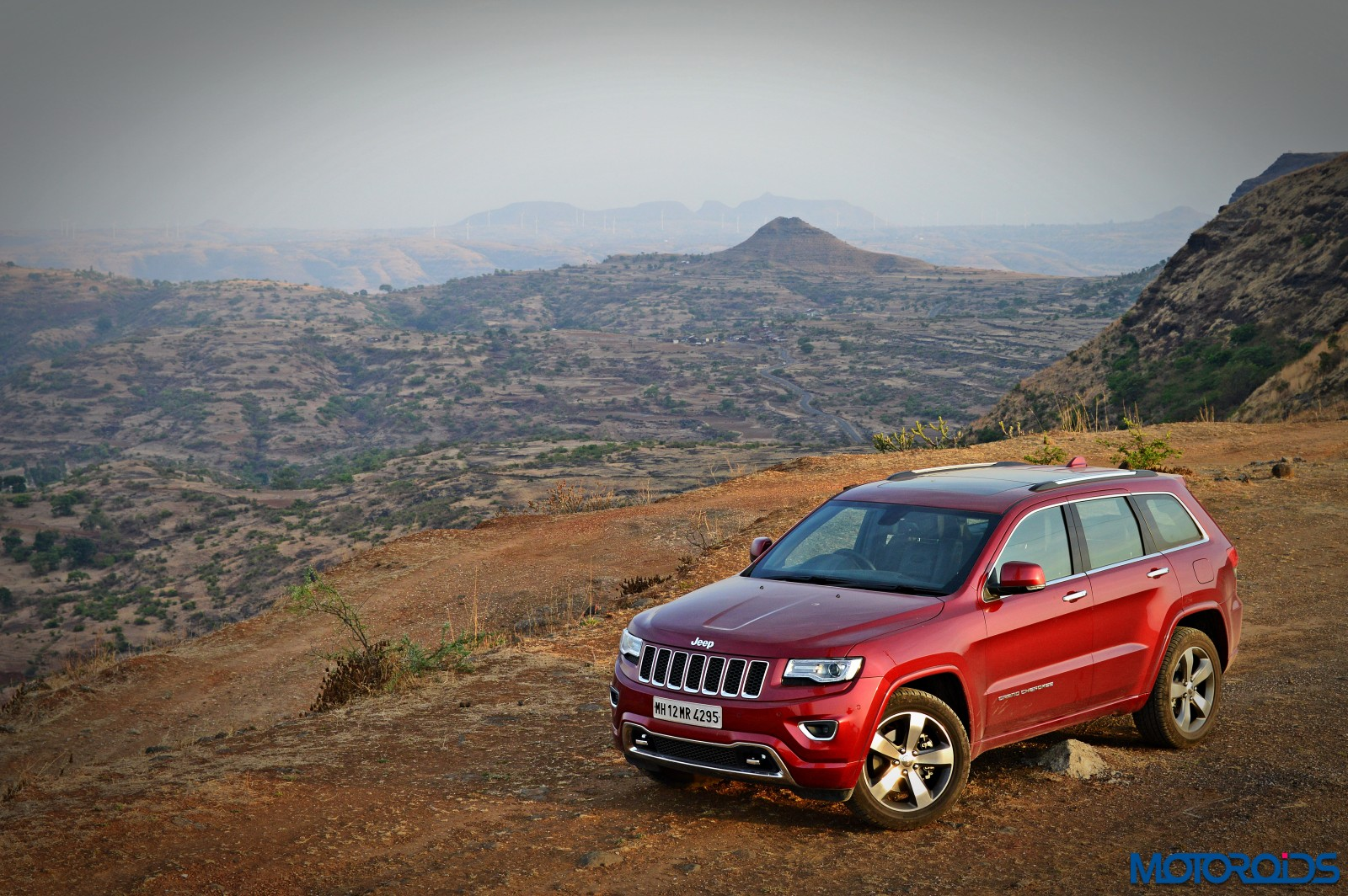 Jeep Grand Cherokee India front (8)