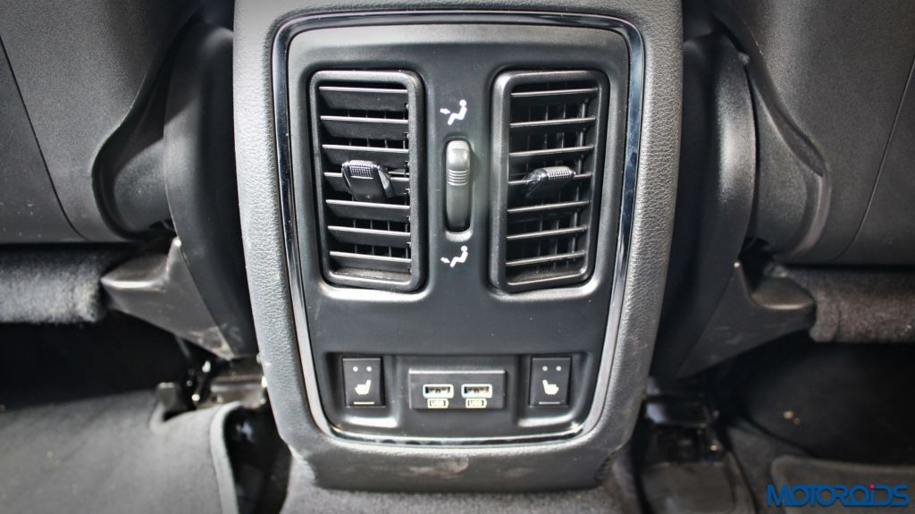 Jeep Grand Cherokee India interior details (16)