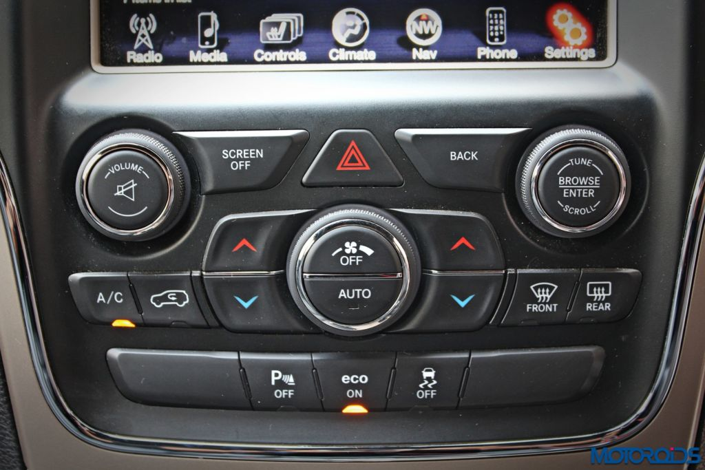 Jeep Grand Cherokee India interior details (20)