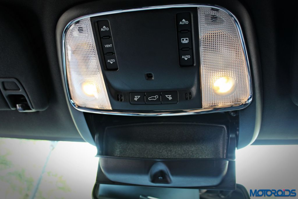 Jeep Grand Cherokee India interior details (8)