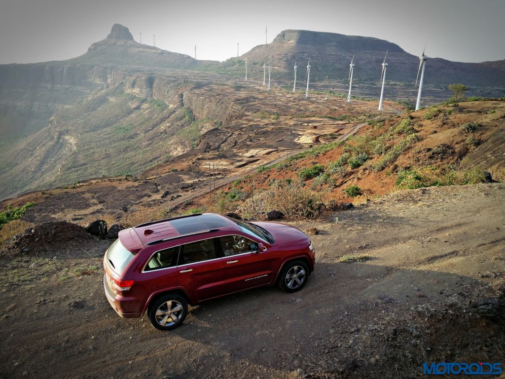 Jeep Grand Cherokee India review exterior (9)