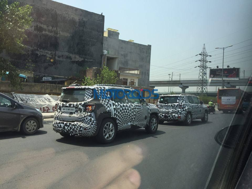Jeep Renegade spied testing (2)