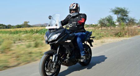 Kawasaki Versys 650 - Review - Action Shots (8)