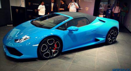 Lamborghini Huracan Spyder India (2)