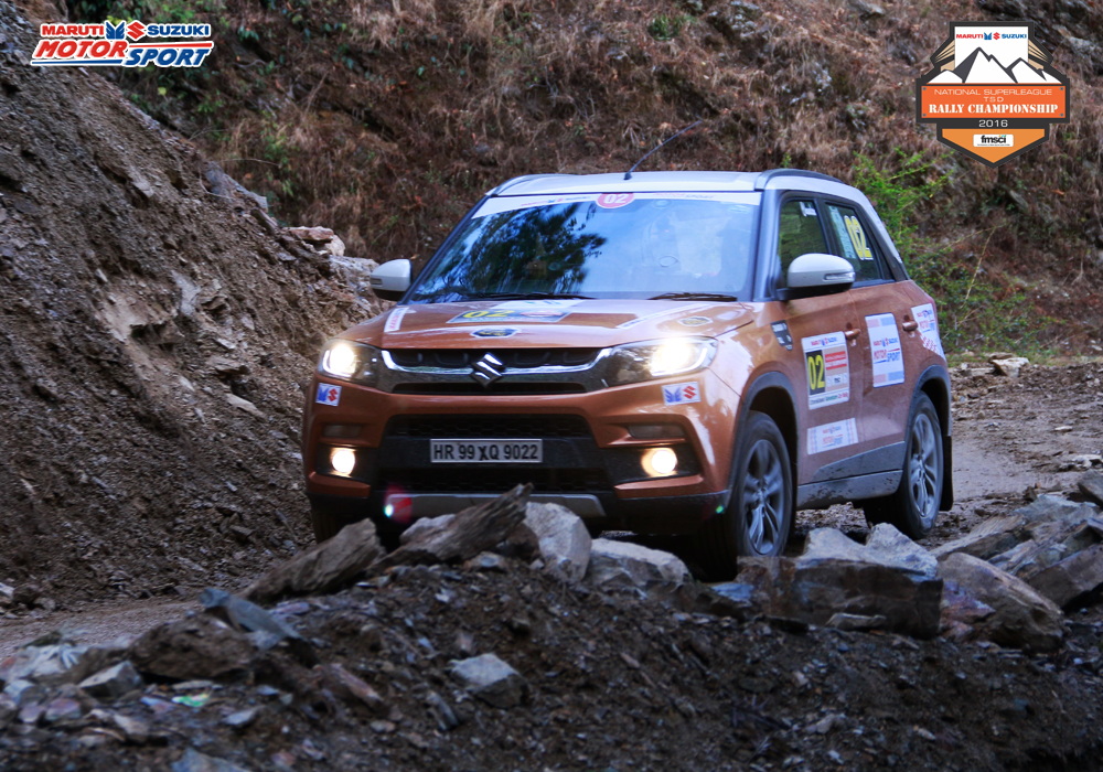 Maruti Suzuki National Super League TSD Rally - 2