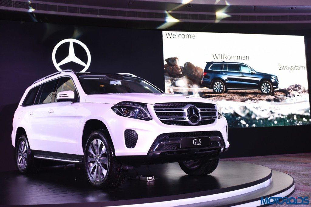 Mercedes-Benz GLS 350 d launched in Delhi 1