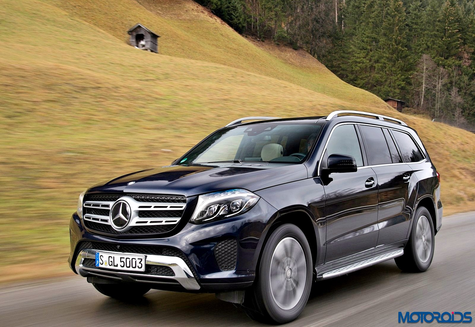 Mercedes benz gls 350 d launched in india priced inr 80 for Mercedes benz gls