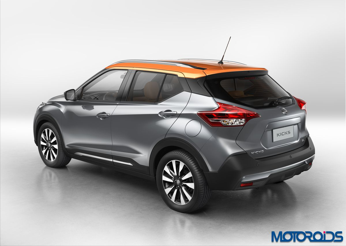 all new nissan kicks compact crossover unveiled brazil. Black Bedroom Furniture Sets. Home Design Ideas