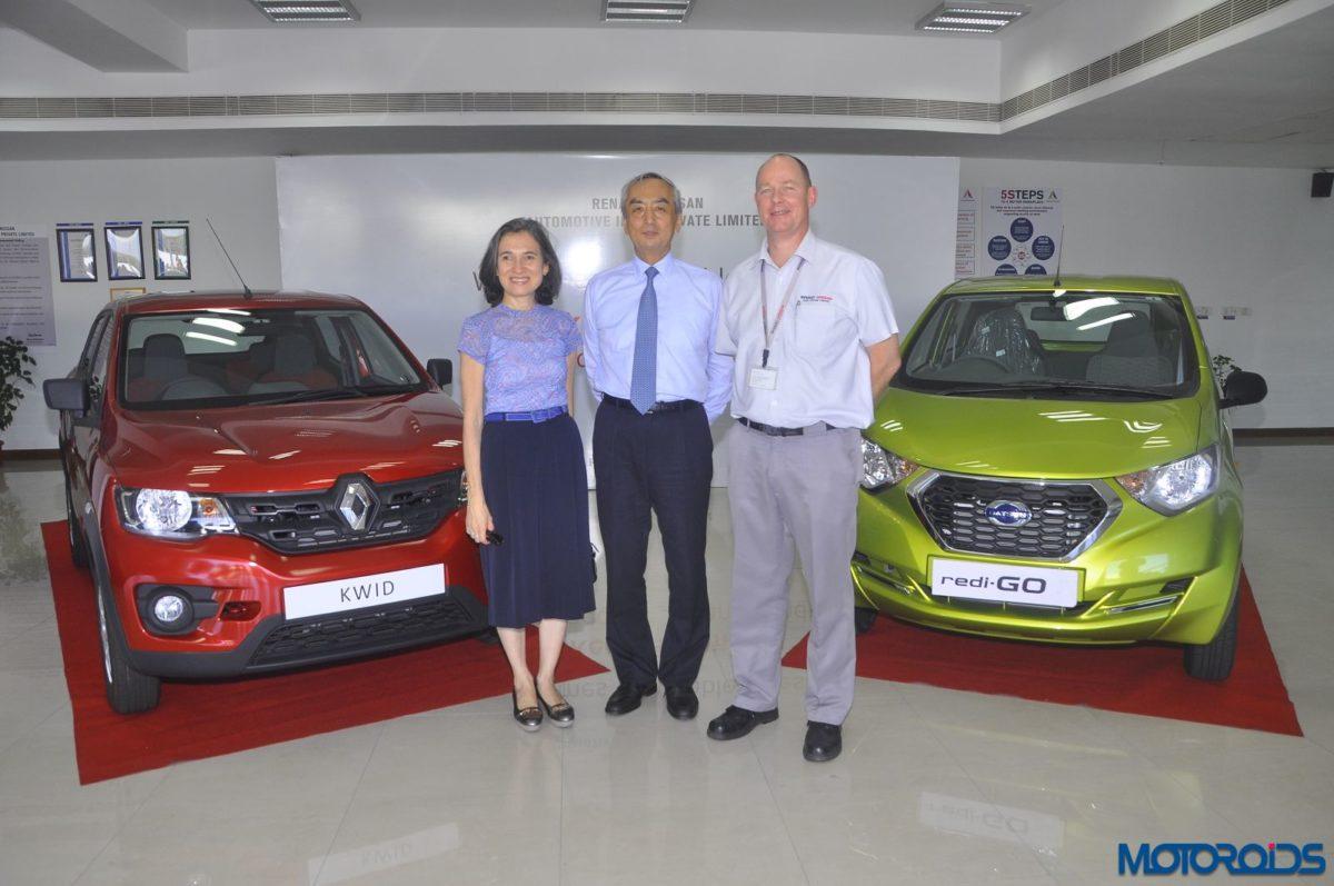 Nissan Renault plant visit (2)