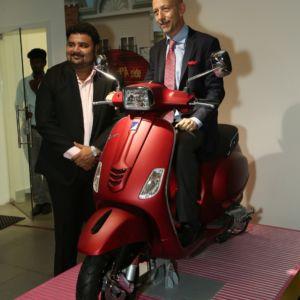 Piaggio India inaugurates its third MotoPlex showroom in Chennai