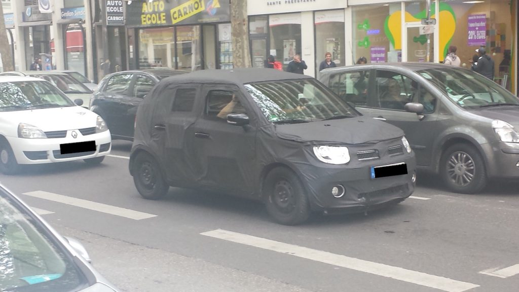 Suzuki Ignis spied in Europe (1)