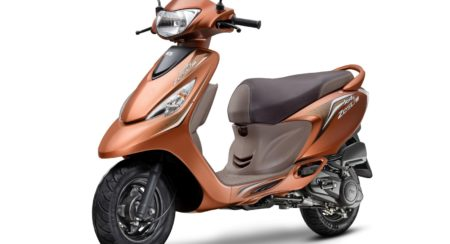 TVS Scooty Zest 110 Himalayan Highs Edition
