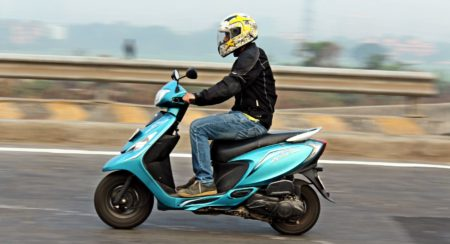 TVS Scooty Zest - Long Term Review - Final Report - Action (3)