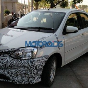 Exclusive: Upcoming Toyota Etios facelift spied testing, likely to launch soon