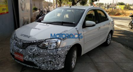 Upcoming Toyota Etios facelift (3)