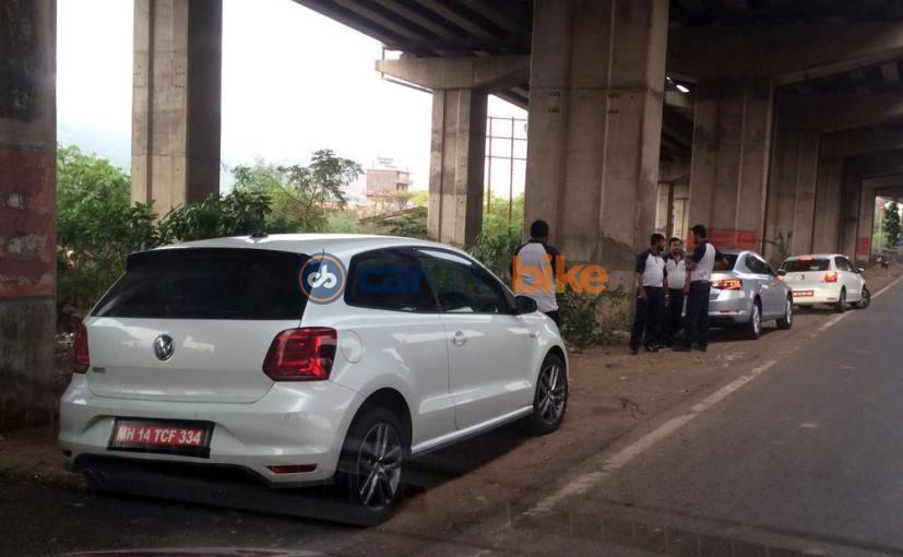 VW Polo GTI spied again