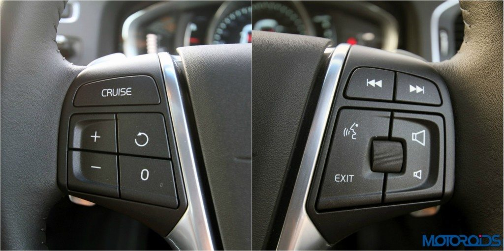 Volvo S 60 cross country Steering mounted controls