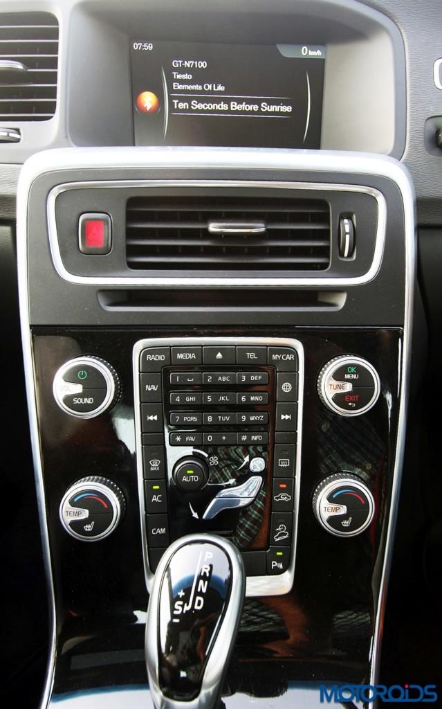 Volvo S60 Cross Country centre console