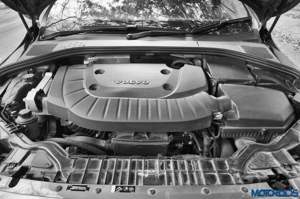 Volvo S60 Cross Country engine