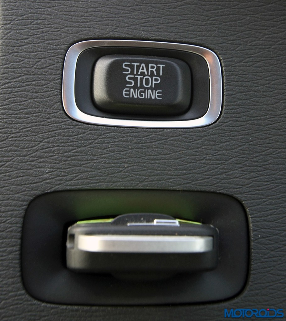 Volvo S60 Cross Country engine start stop key fob