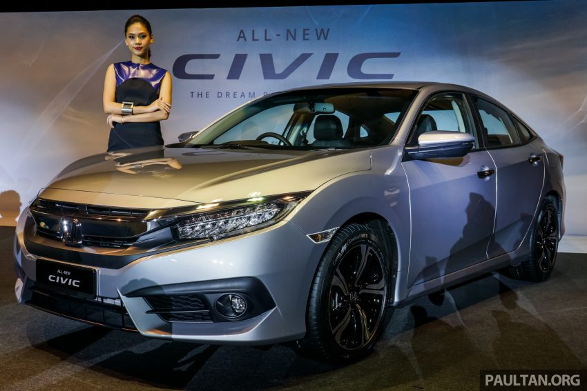 2016 Honda Civic launched in Malaysia (4)