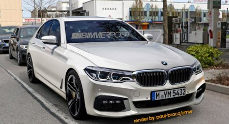 Render: India bound, next generation BMW 5 Series shapes up well