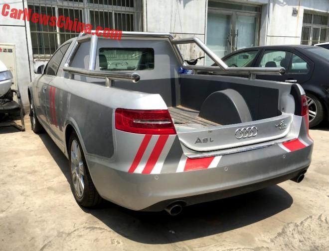 Audi A6L pickup truck (1)