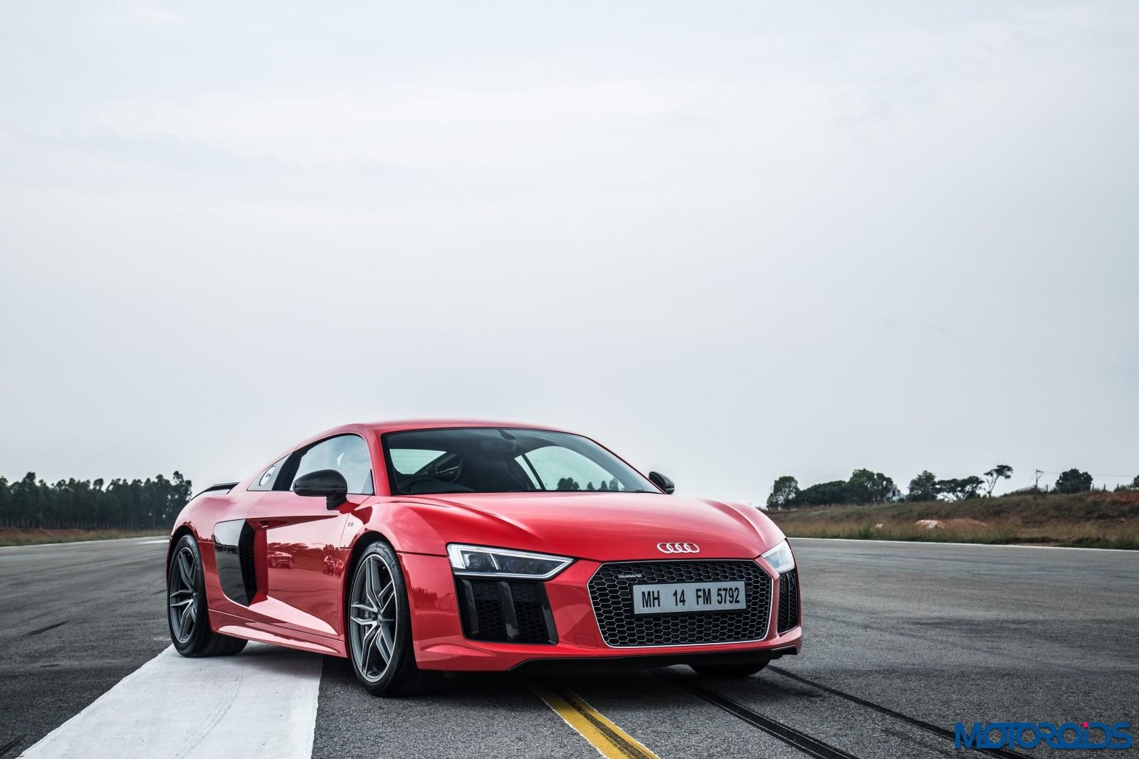 Audi R8 V10 Plus Drive Experience - Stock (3)