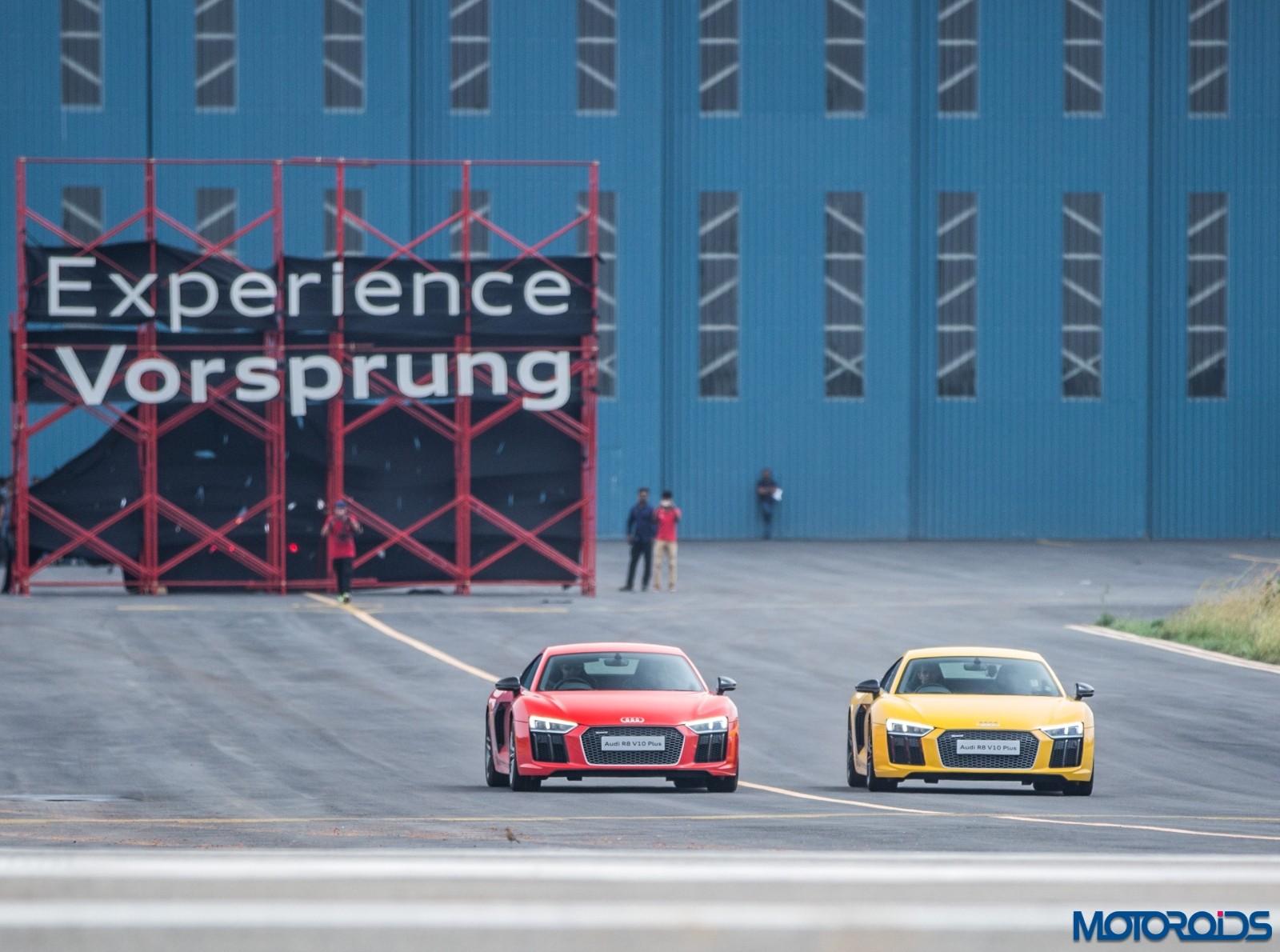 Audi R8 V10 Plus Drive Experience - Stock (5)