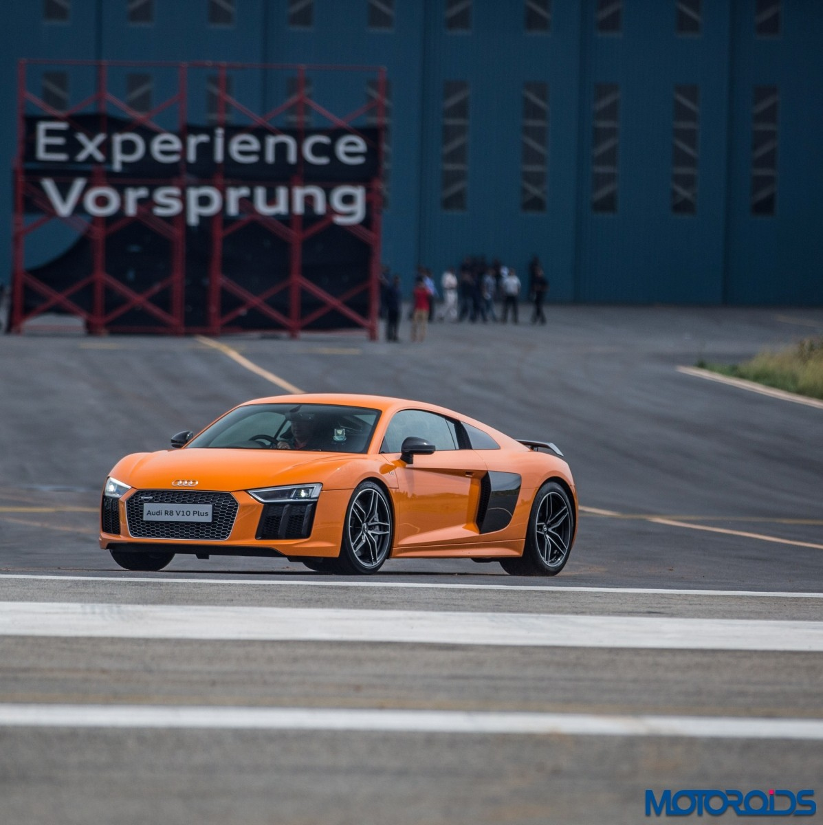 Audi R8 V10 Plus Drive Experience - Stock (6)