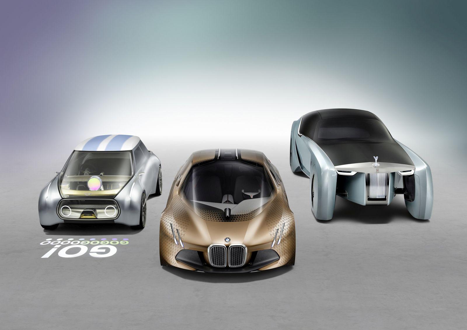 BMW Group VISION NEXT 100 Vehicles