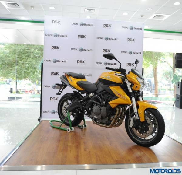 DSK Benelli TNT 600i LE