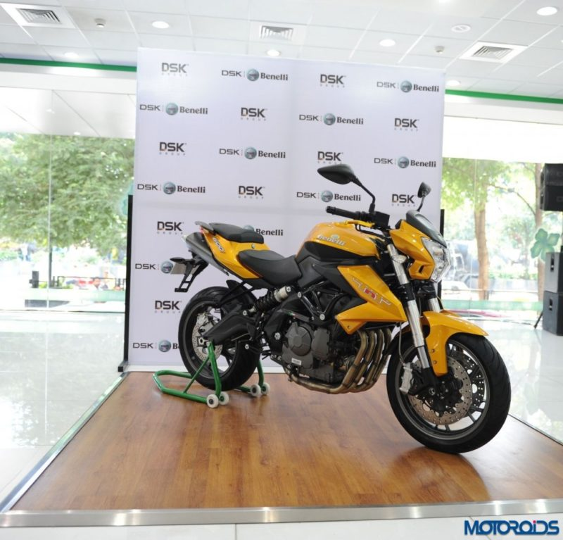 Benelli Tornado 302 spotted testing. EDIT: Now launched