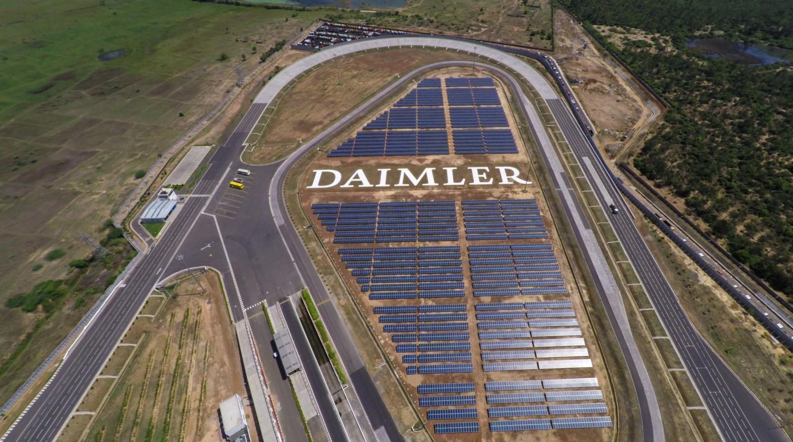 Daimler India - photovolatics expansion - 1