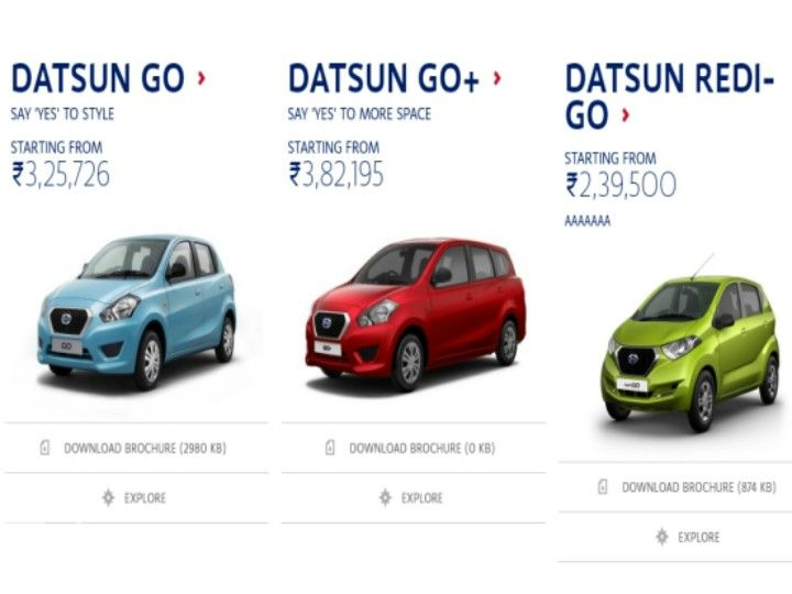 Datsun redi-GO prices leaked days before official launch ...