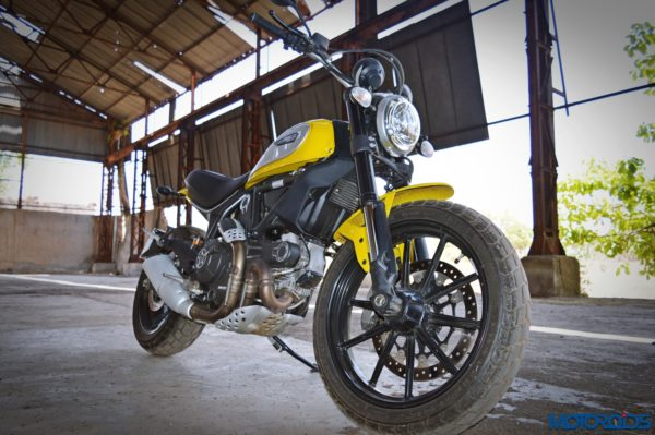 Ducati Scrambler Icon front