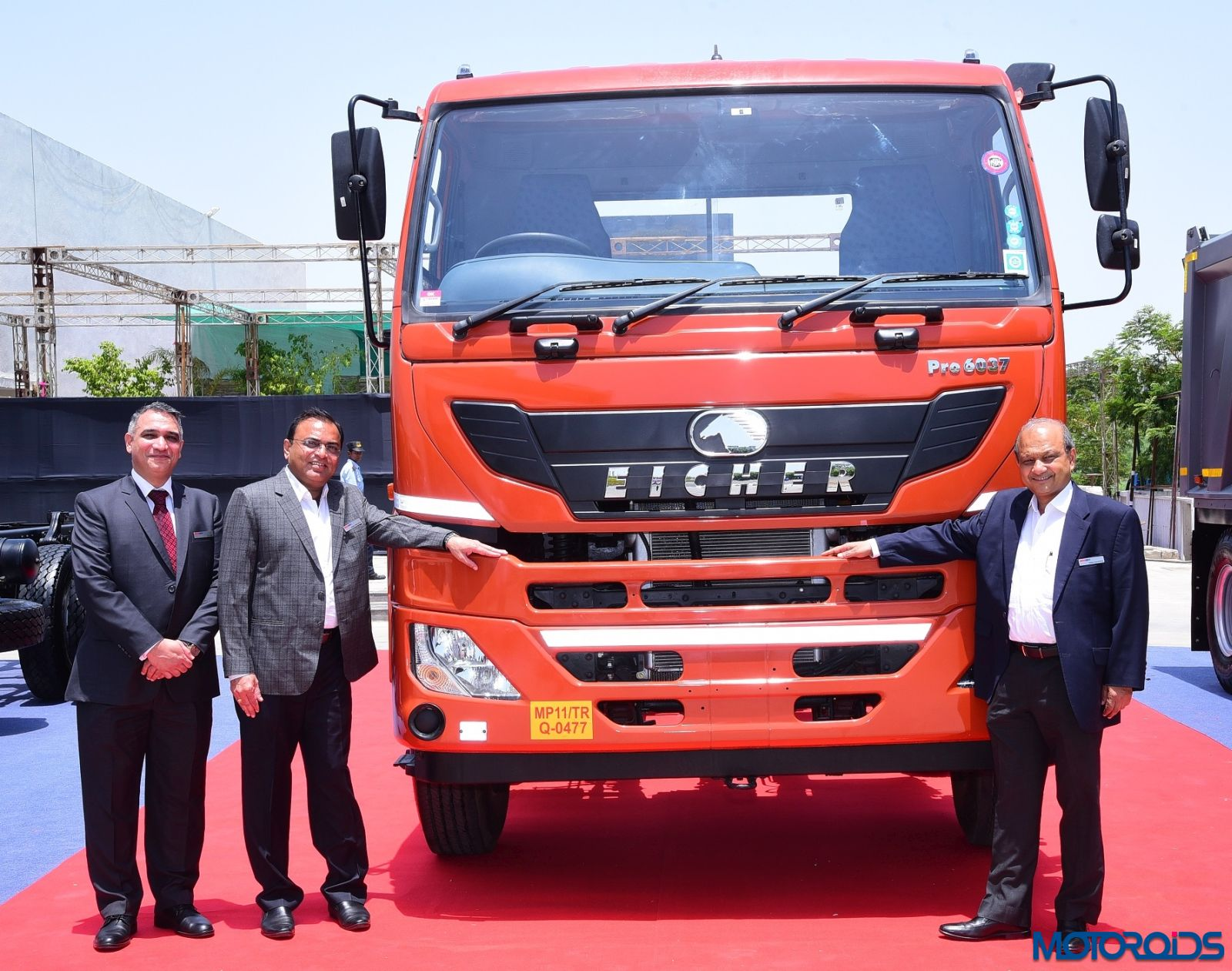 Eicher Trucks and Buses launches the Eicher Pro 6037 With M-Booster and advanced telematics