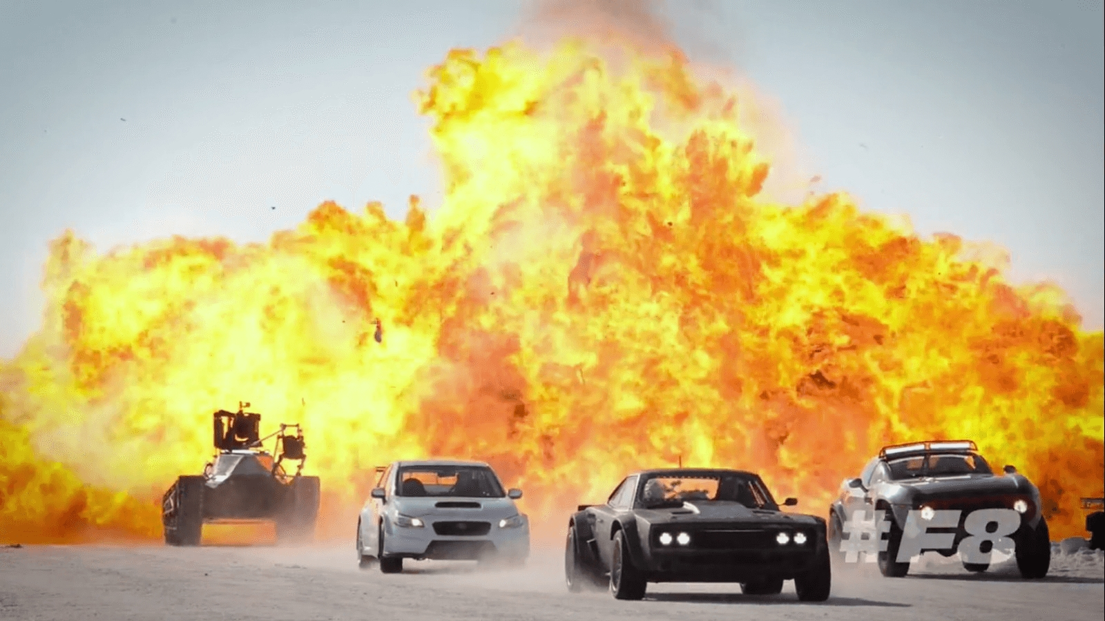 Video Fast And Furious 8 Team Sets Iceland On Fire on cool fast and furious cars